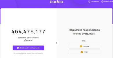 aplicación Badoo